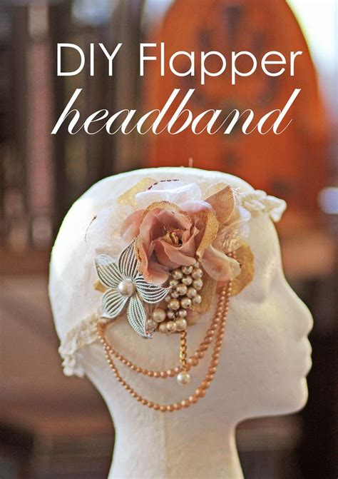 diy flapper hairst 1000 ideas about flapper headband on pinterest flapper