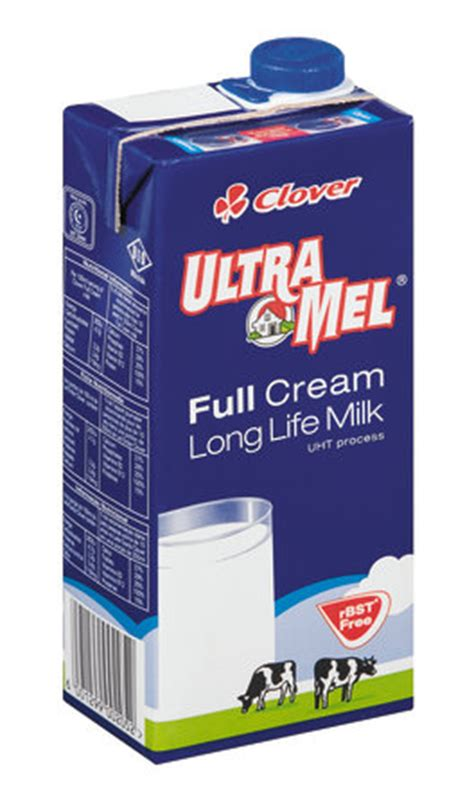 Ultra 250ml Fullcream ultra mel uht milk 500ml clover milk