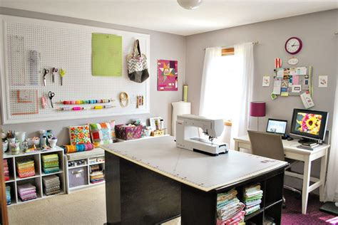 bijou lovely sewing room tour