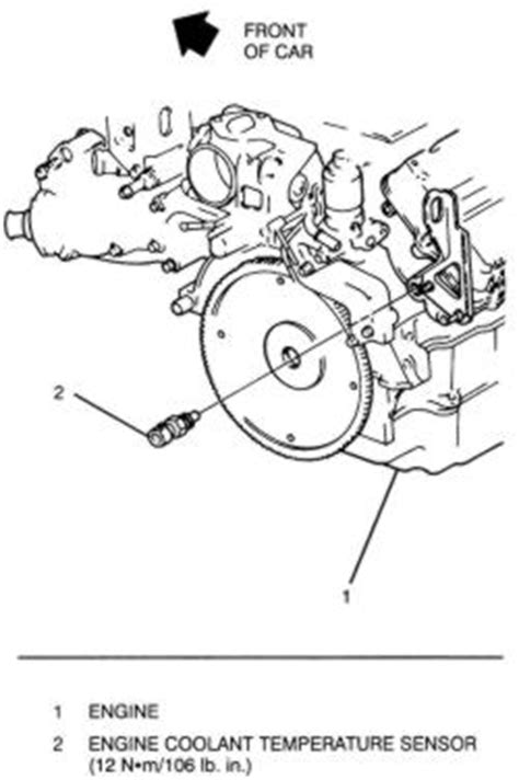 small engine repair training 1998 cadillac deville free book repair manuals repair guides sending units and sensors coolant temperature sensor autozone com