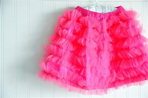 Organza Ruffle Tutorial | 5 tulle skirt somewhat simple stitch and sew pinterest