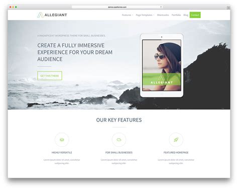 fresh releases free wordpress theme created by