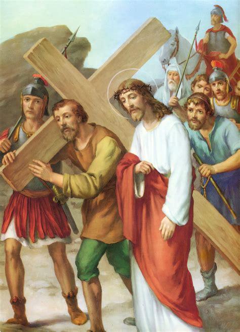 imagenes de jesus viacrucis via crucis meditado caminando con jes 250 s de la mano