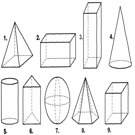 figuras geometricas imagens figuras geometricas dibujosparacolorear