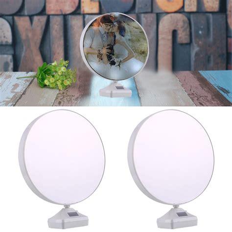 Cermin Frame cermin magic dengan photo frame white jakartanotebook