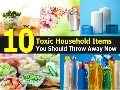10 toxic household items you should throw away now girly