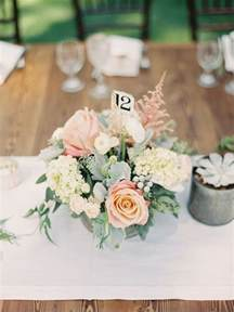 floral wedding table centerpieces best 25 blush wedding centerpieces ideas on