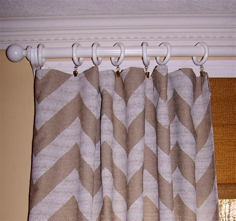 burlap chevron curtains window treatment burlap chevron curtains burlap
