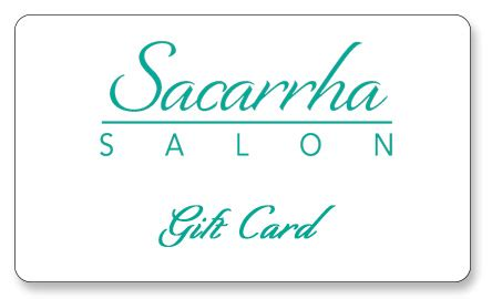 Salon Gift Cards Online - gift card sacarrha salon
