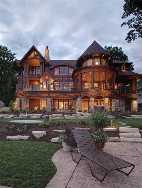 big beautiful houses on pinterest beautiful modern cabin home perfect for living in the