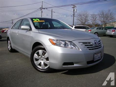 2009 Toyota Camry Le by 2009 Toyota Camry Le For Sale In Lakeport California