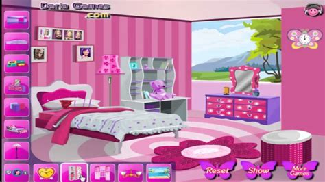 barbie bedroom game decorate barbie s bedroom games for kids 1 youtube