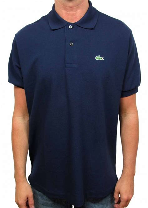 lacoste fashion clothing mens polo shirt navy
