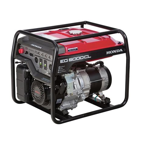 honda 5000 watt gasoline generator with gx390 ohv