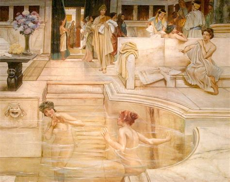 donne al bagno quot donne al bagno quot part alma tadema 1836 1912