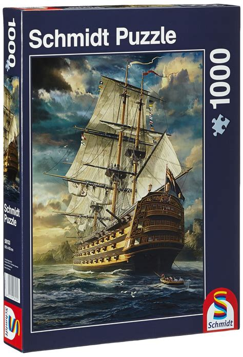 Jigsaw Puzzle Schmidt View On Comder See 1000 Pieces sails set jigsaw puzzle 1000 sailing ships