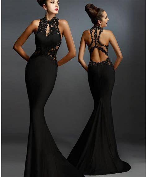 best black dress best sleeveless mermaid formal black dress