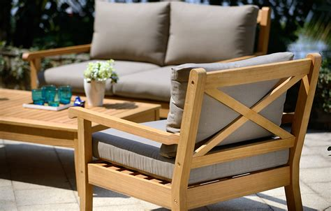outdoor wooden furniture wood garden furniture buyers guide from out and out original