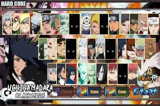 kumpulan game rpg mod 2016 kumpulan naruto senki mod unlimited money full unlocked v1