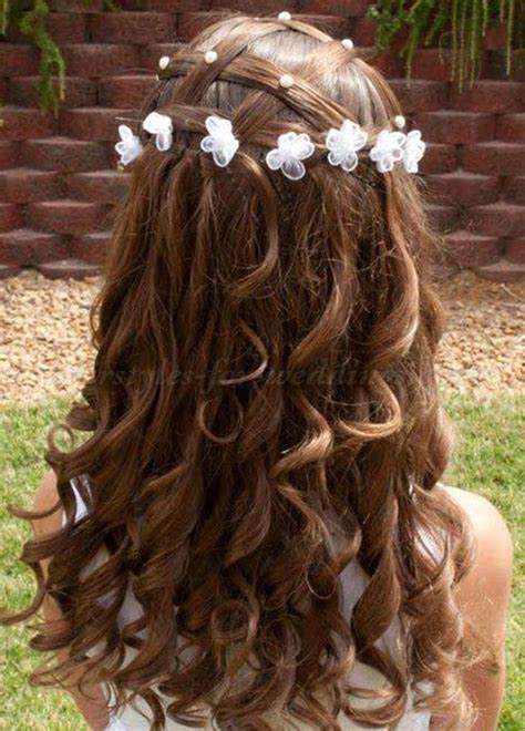 Hairstyles For Flower by Flower Hairstyles Curly Newhairstylesformen2014