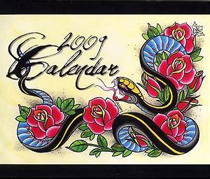 tattoo flash calendar ktat2090 2009 tattoo flash calendar