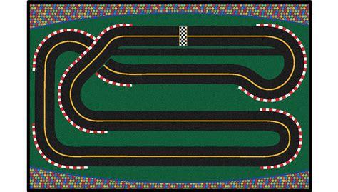 Race Track Rug Roselawnlutheran Race Track Rug