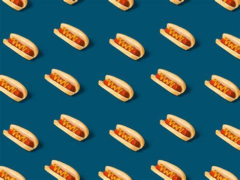 hotdog pattern cute hotdog pattern by andrea trew dribbble