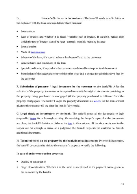 Home Loan Sanction Letter Icici Bank Homeloans