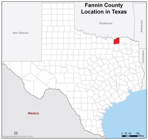 map of fannin county texas free and open source location map of fannin county texas mapsopensource
