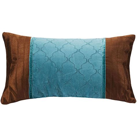 Walmart Decorative Throw Pillows by Better Homes And Gardens Paisley Collection Oblong