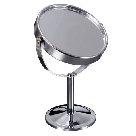 bathroom swivel mirror double sided round magnifying bathroom make up cosmetic