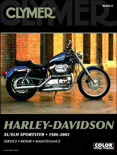 Harley Davidson Sportster 1986 2003 Clymer Service Repair