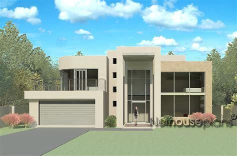 modern 4 bedroom house designs m434d nethouseplans