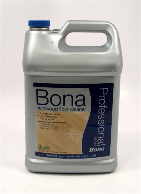 Bona Pro Hardwood Floor Cleaner by Bona Pro Series Hardwood Floor Cleaner Refill Gallon