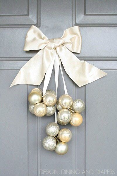 diy door decor diy ornament door decoration taryn whiteaker