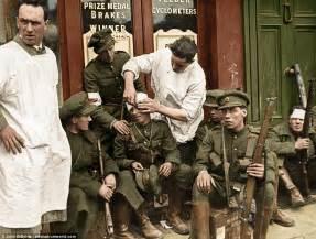 braut von belsen ireland s civil war in colourised photographs daily mail