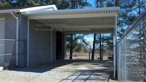 Aluminum Carport Awnings by Aluminum Carports Nc