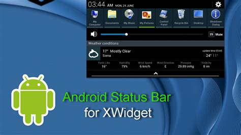 android status bar android status bar for xwidget by jimking on deviantart