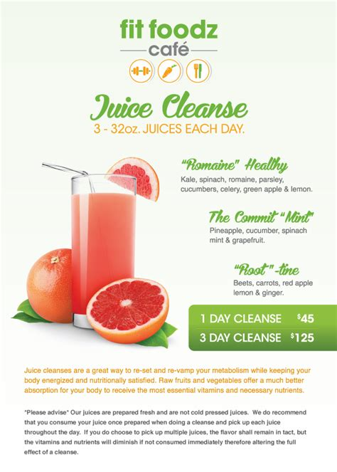 3 Day Detox Drink by Juice Cleanse