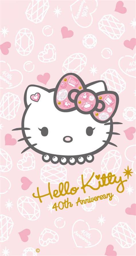 wallpaper hello kitty pinterest hello kitty hello kitty pinterest fondo de celular