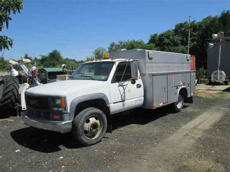gmc 3500 1999 utility service trucks