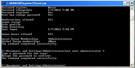 reset password xp command prompt change user password in windows xp in vb net