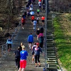 Swallow Cliff Stairs Address by Swallow Cliff Woods North 58 Photos Hiking Palos