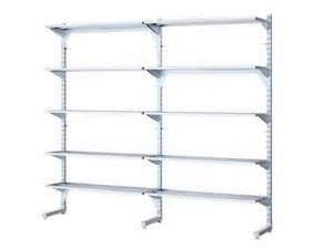 wall mounted shelving systems for garage wall mounted wire shelves to use in your garage