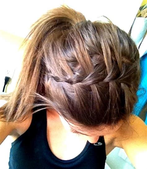 hair braided into pony tail 11 waterfall french braid hairstyles long hair ideas