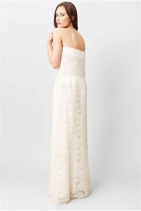 Robe Longue Et Blanche - c est ma robe ahr robe longue dentelle blanche et lurex