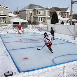 best 25 backyard rink ideas on rink