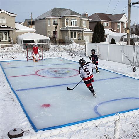 25 unique backyard rink ideas on