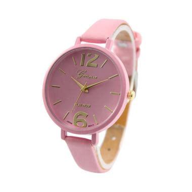 Kalung Tali Pink Etnic Korea jual daily deals geneva korea tali kecil jam tangan wanita pink harga kualitas