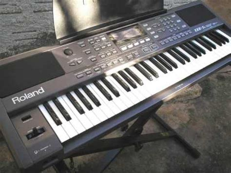Keyboard Roland Exr5s Baru roland exr 5s tatu cover